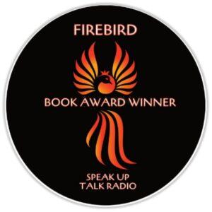 FireBird Book Award Badge Supporting Women's Children's Shelters
